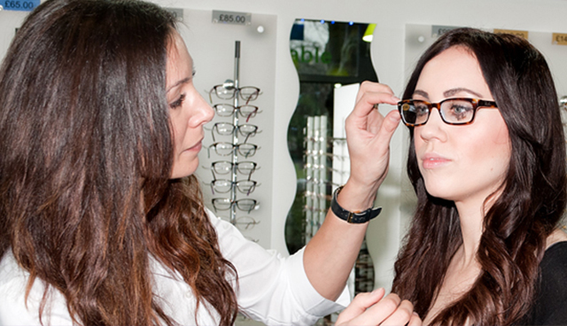 Book an eye test online